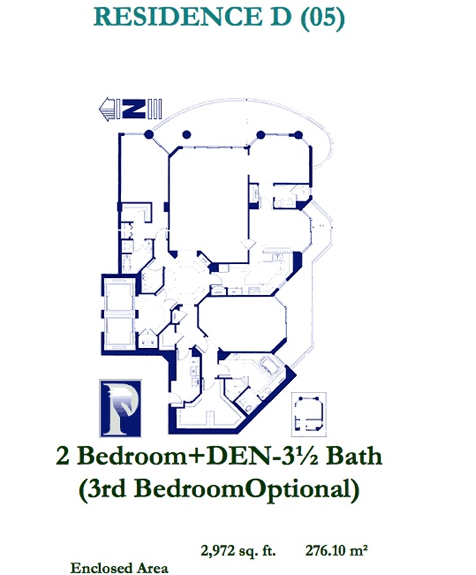 Atlantic III At The Point - Floorplan 3