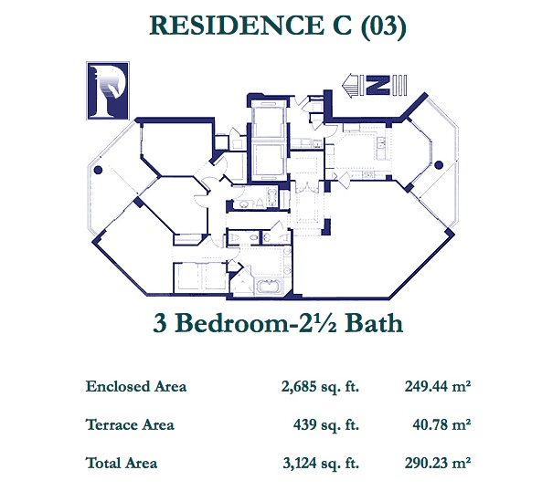 Atlantic III At The Point - Floorplan 4