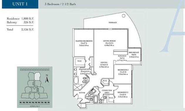 Atrium - Floorplan 1