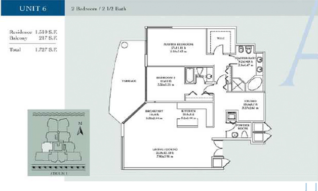 Atrium - Floorplan 3