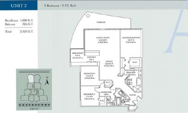 Atrium - Floorplan 4