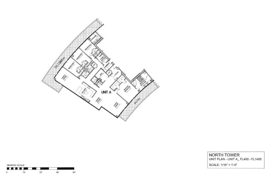 Auberge Beach Residences & Spa - Floorplan 1