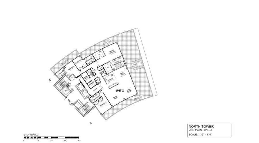 Auberge Beach Residences & Spa - Floorplan 2