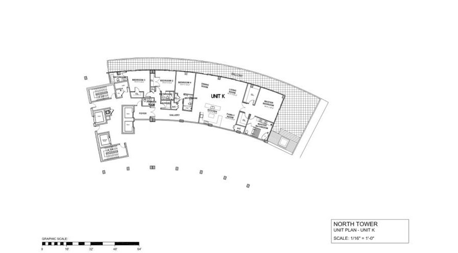 Auberge Beach Residences & Spa - Floorplan 4