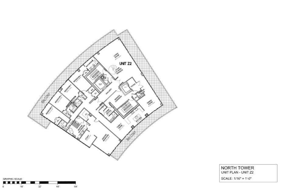 Auberge Beach Residences & Spa - Floorplan 8