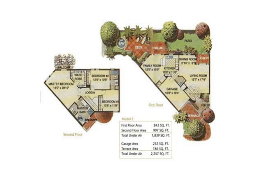 Aventura Bay - Floorplan 1