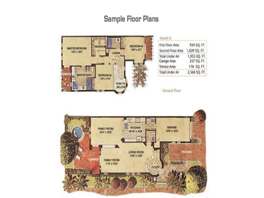 Aventura Bay - Floorplan 2
