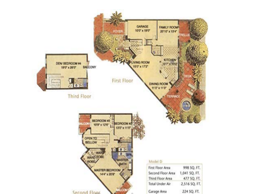 Aventura Bay - Floorplan 3