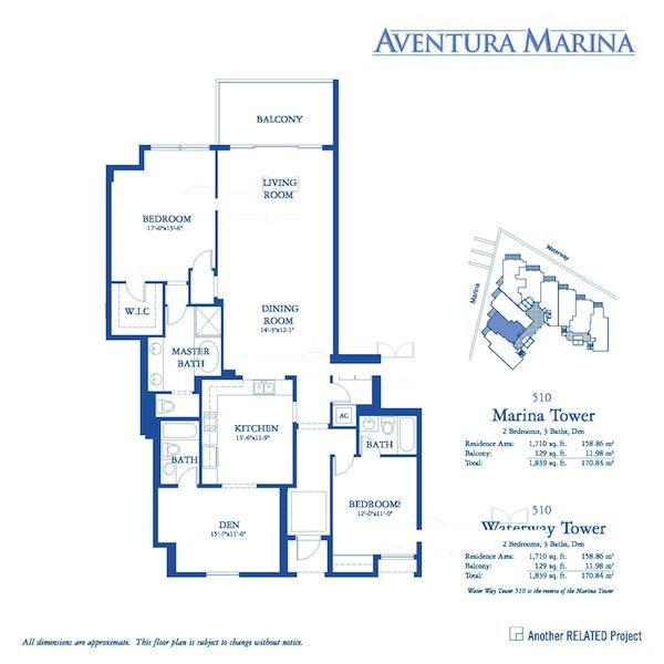 Aventura Marina - Floorplan 2