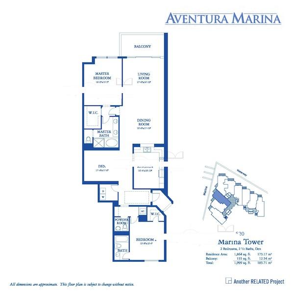 Aventura Marina - Floorplan 3