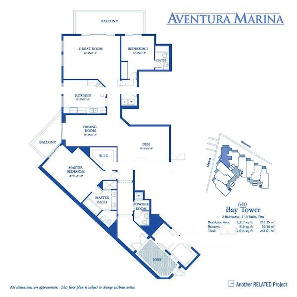 Aventura Marina - Floorplan 4