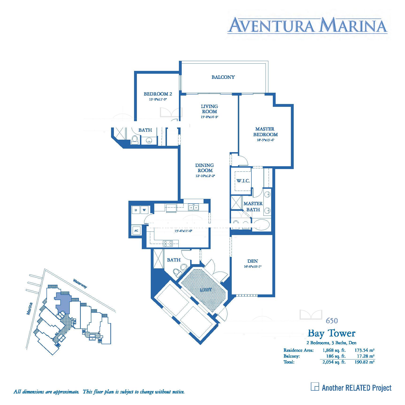 Aventura Marina - Floorplan 5