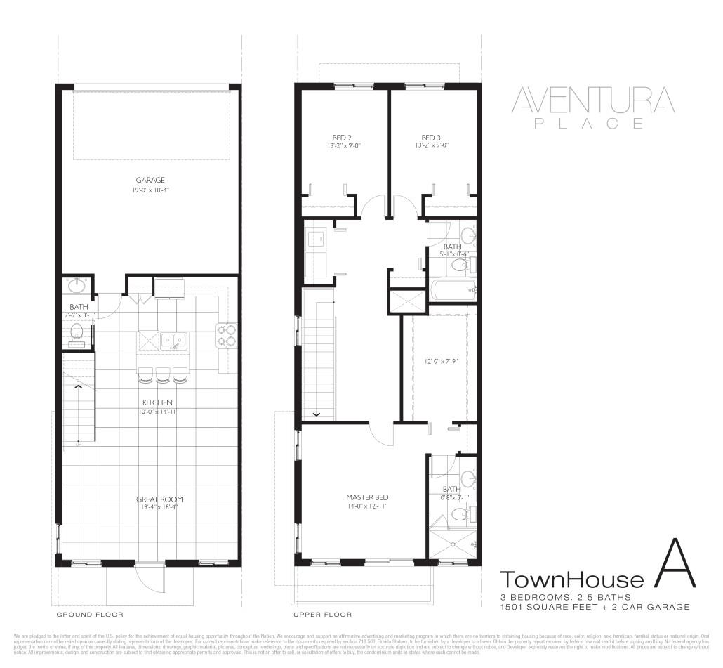 Aventura Place - Floorplan 4
