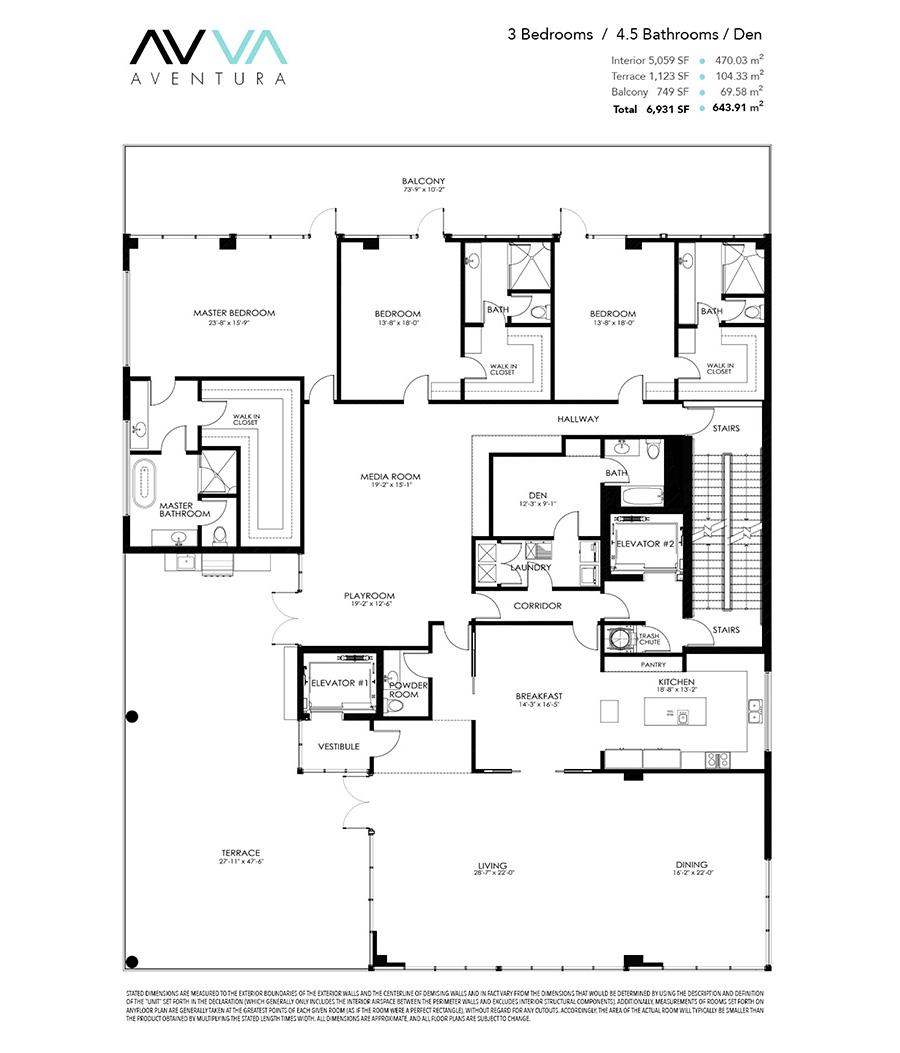 Avva Residences - Floorplan 1
