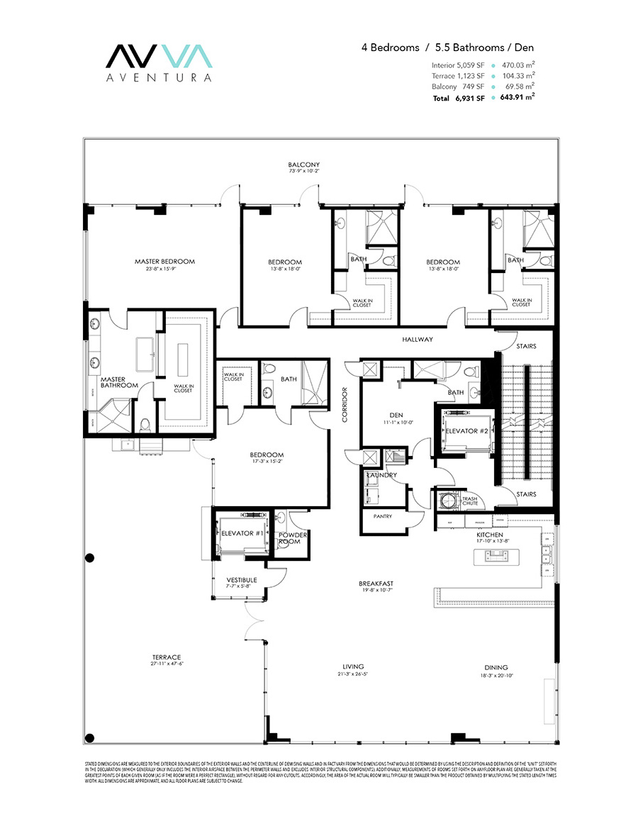 Avva Residences - Floorplan 2