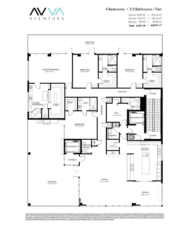 Avva Residences - Floorplan 3