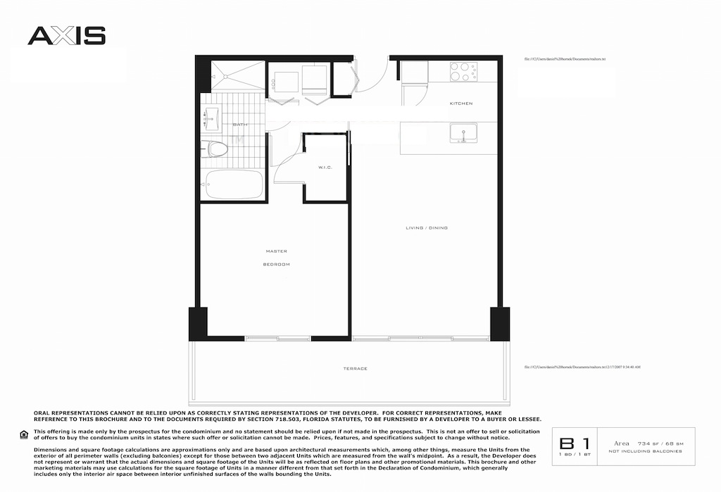 Axis - Floorplan 1
