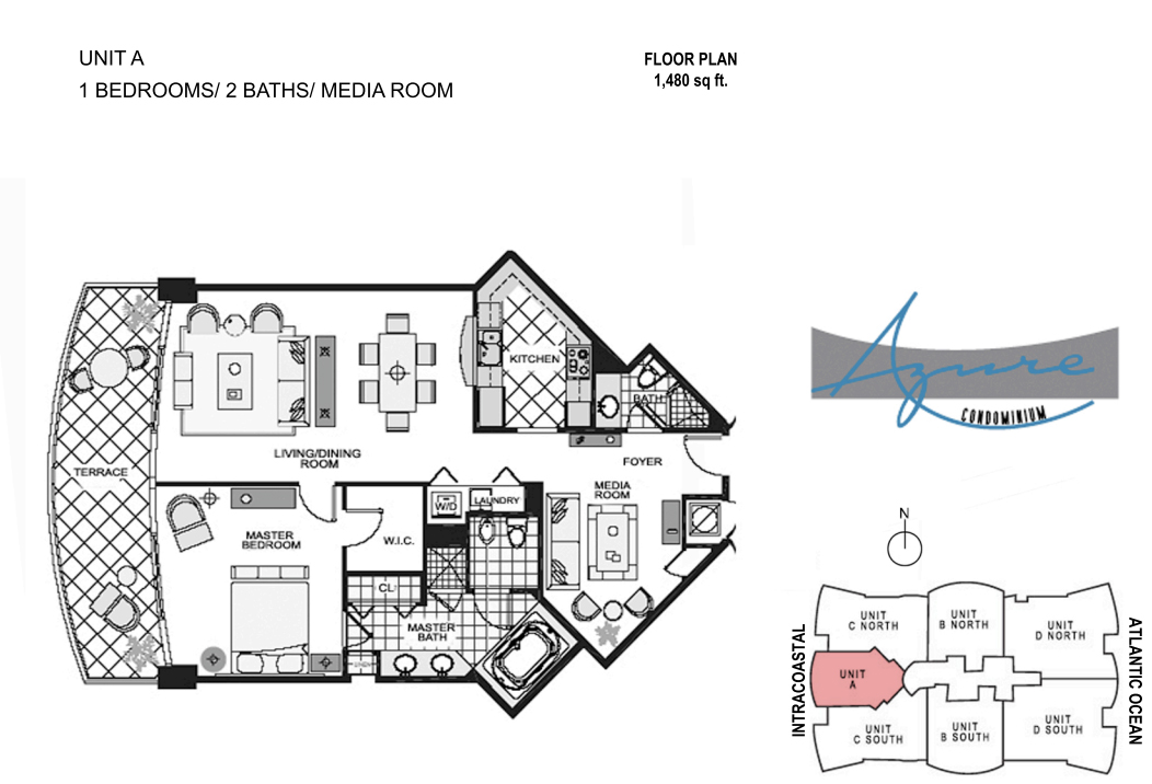 Azure - Floorplan 1