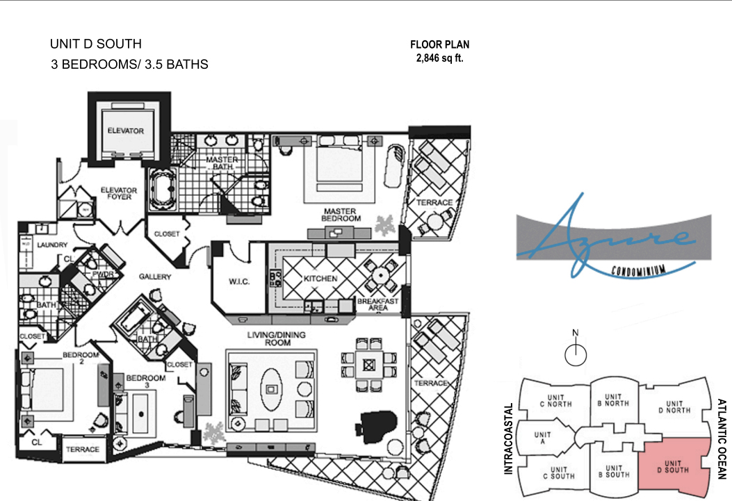Azure - Floorplan 3