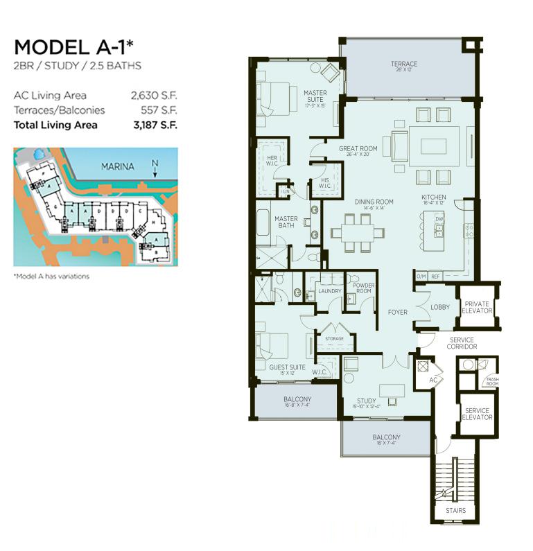 Azure - Floorplan 1