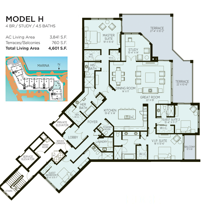 Azure - Floorplan 5