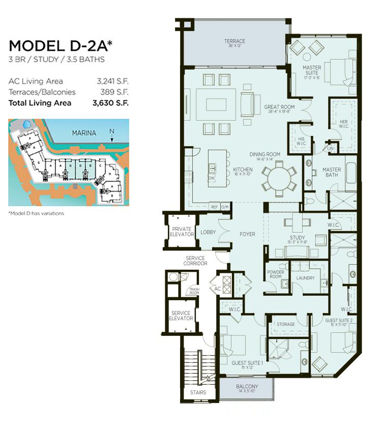Azure - Floorplan 4