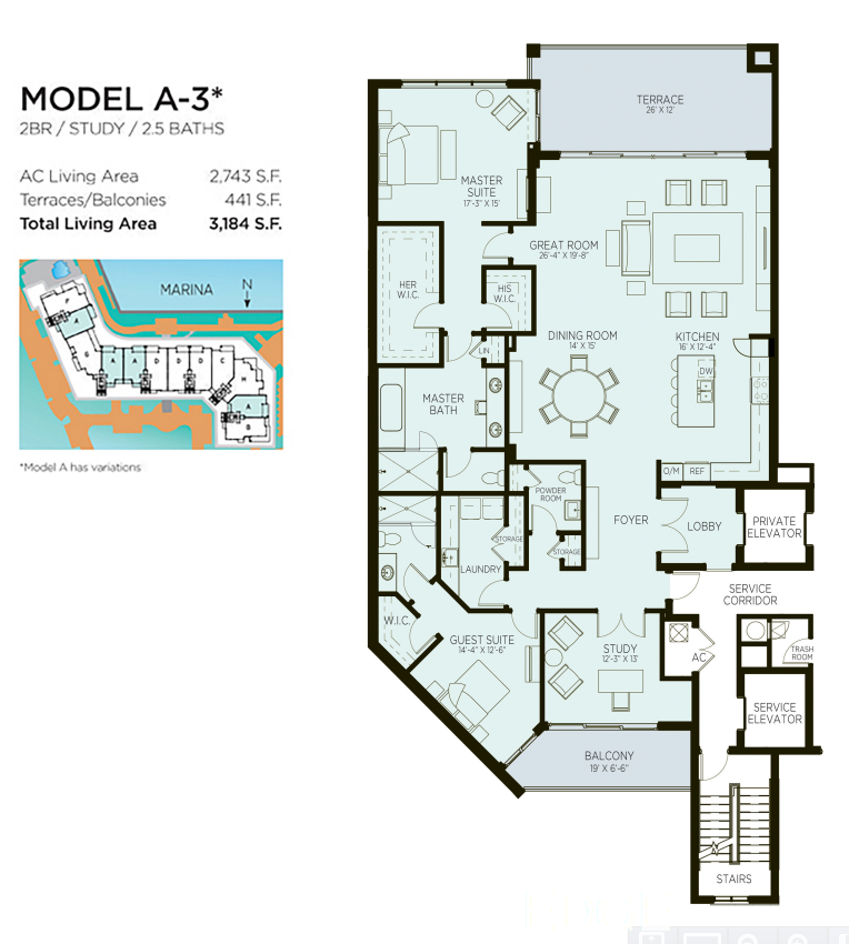 Azure - Floorplan 2