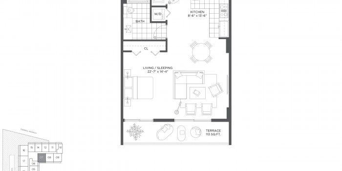 Baltus House - Floorplan 1