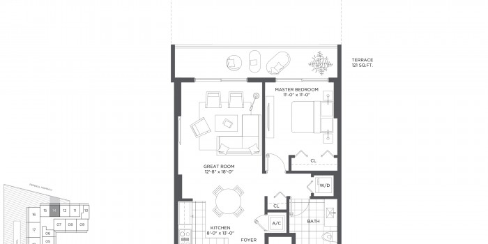 Baltus House - Floorplan 17