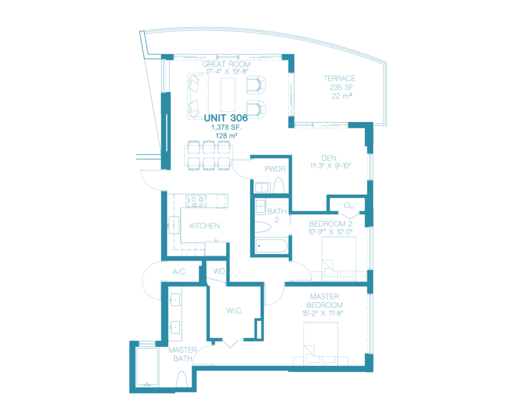 Bay Harbor One - Floorplan 1