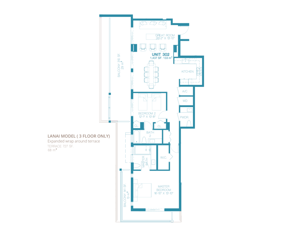 Bay Harbor One - Floorplan 2
