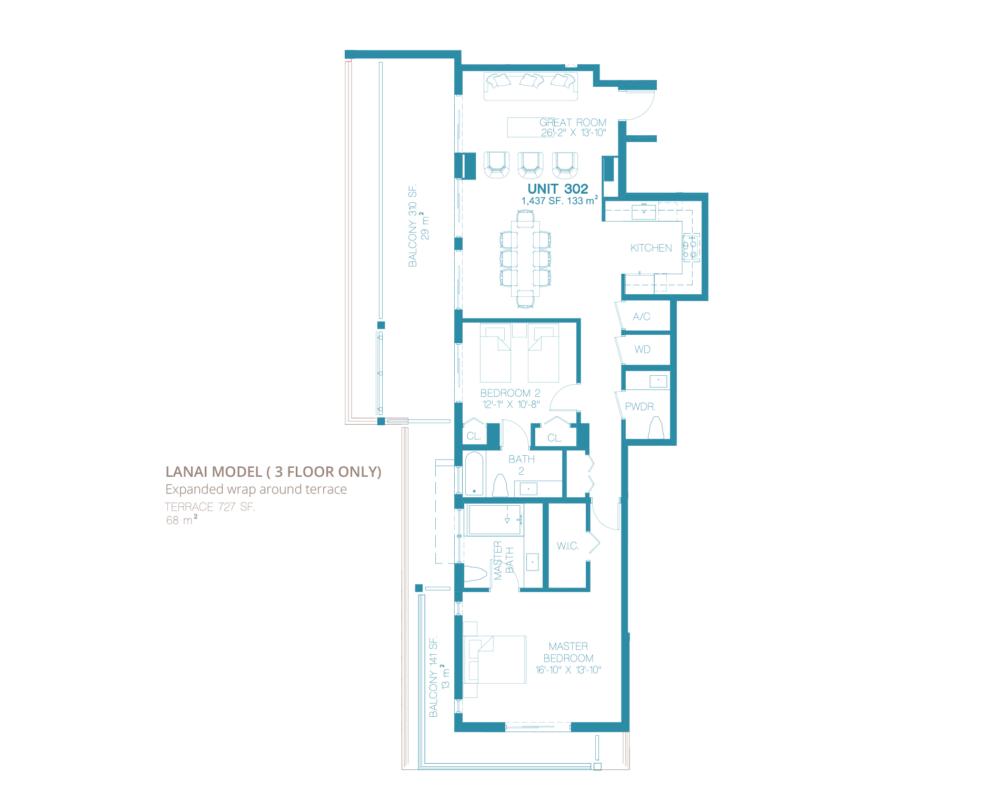 Bay Harbor One - Floorplan 2