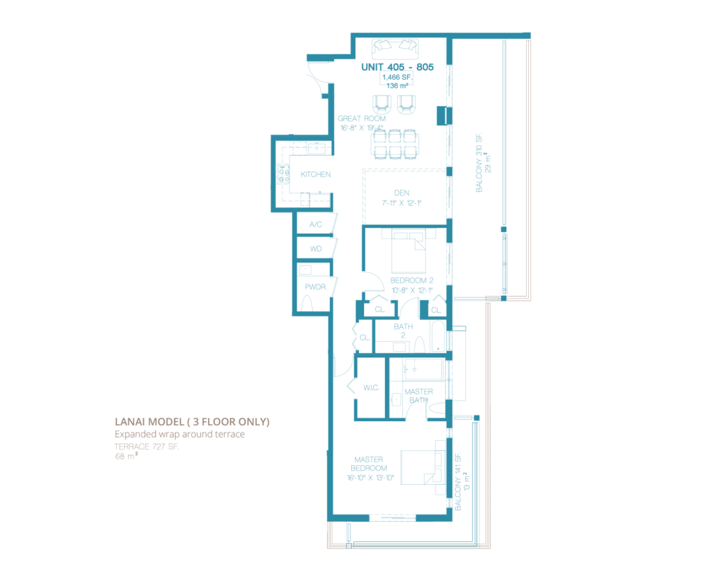 Bay Harbor One - Floorplan 3
