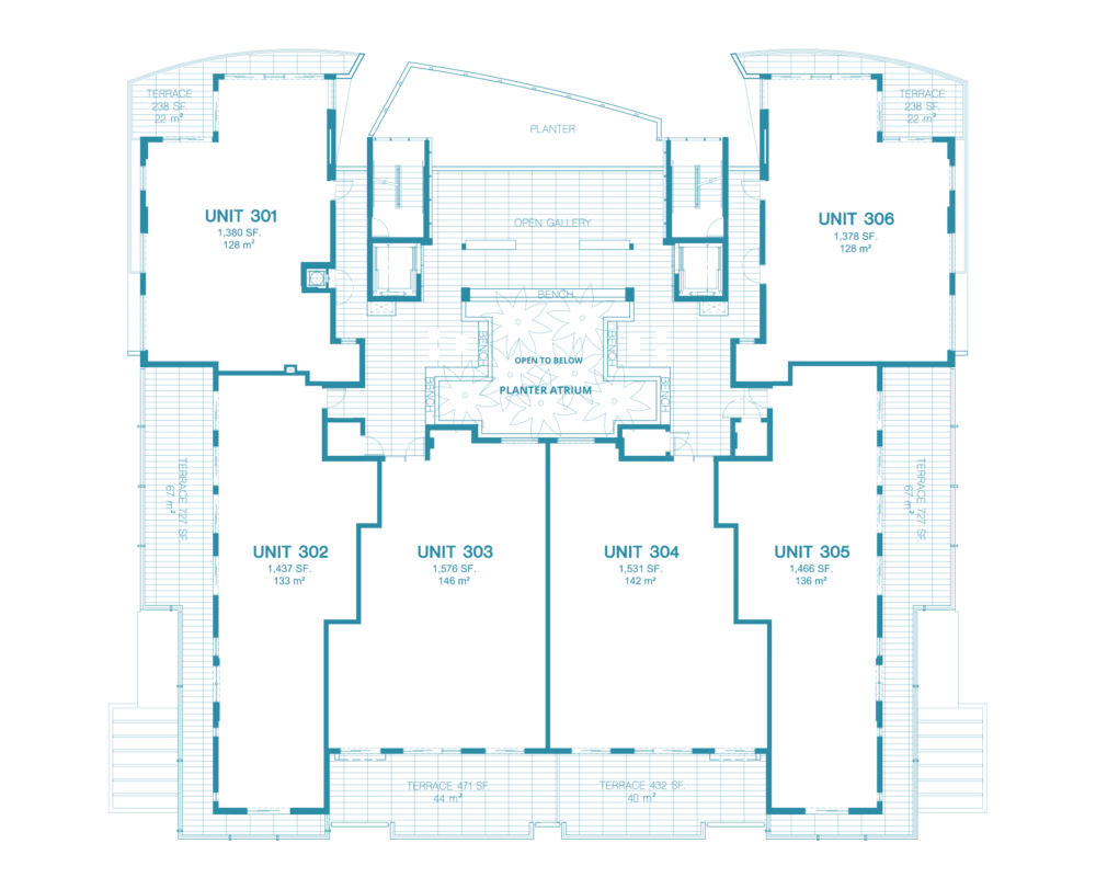 Bay Harbor One - Floorplan 4
