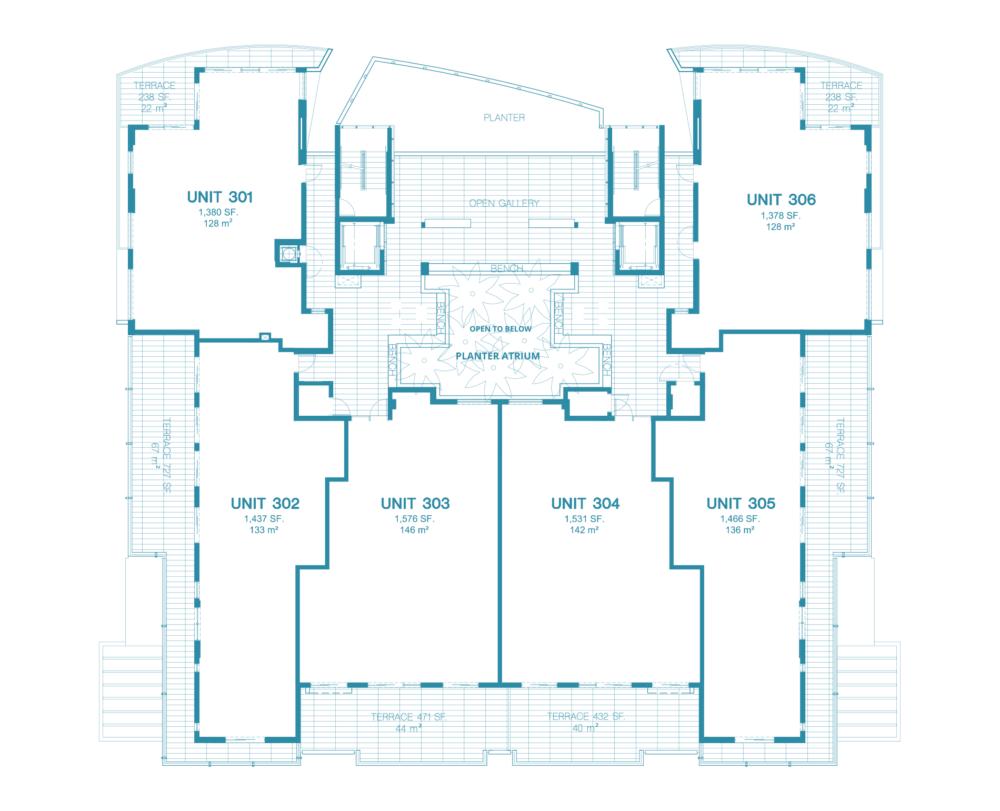 Bay Harbor One - Floorplan 4