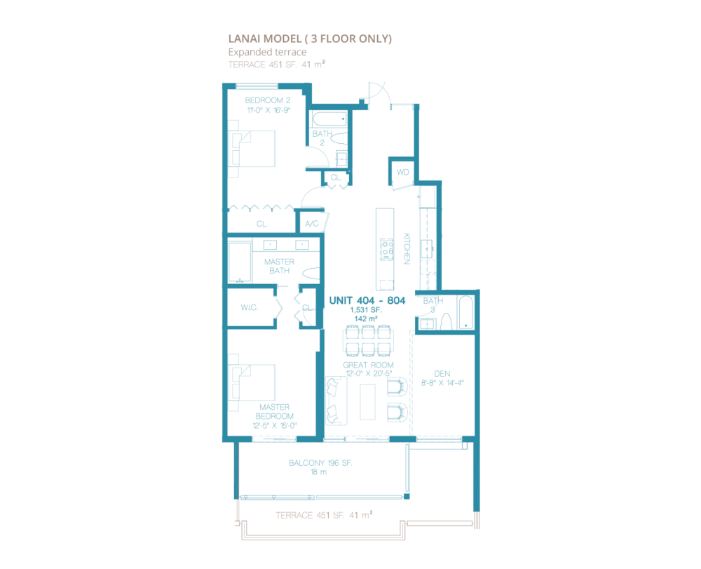 Bay Harbor One - Floorplan 5