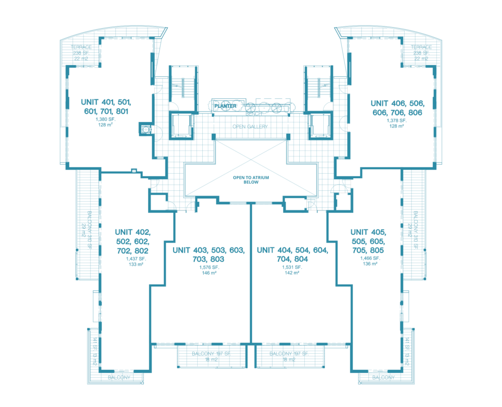 Bay Harbor One - Floorplan 6