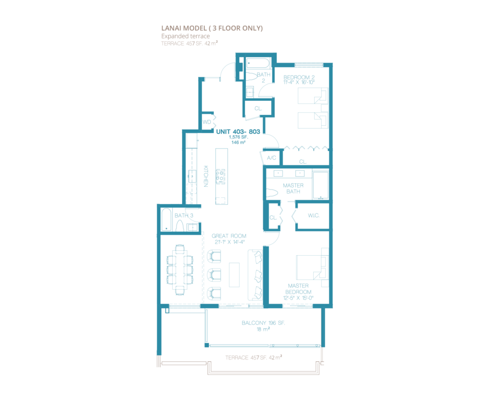 Bay Harbor One - Floorplan 9