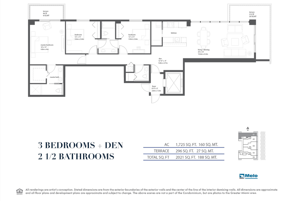 Bay House - Floorplan 1