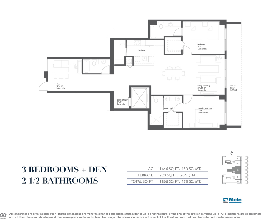 Bay House - Floorplan 3