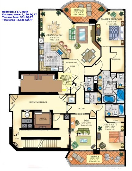 Bella Mare - Floorplan 2