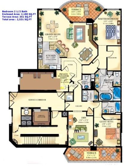 Bella Mare - Floorplan 2