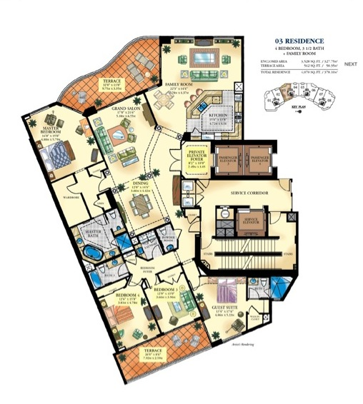 Bella Mare - Floorplan 3