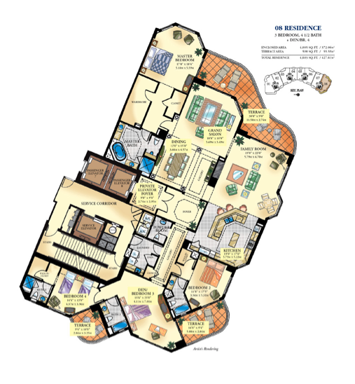 Bella Mare - Floorplan 5