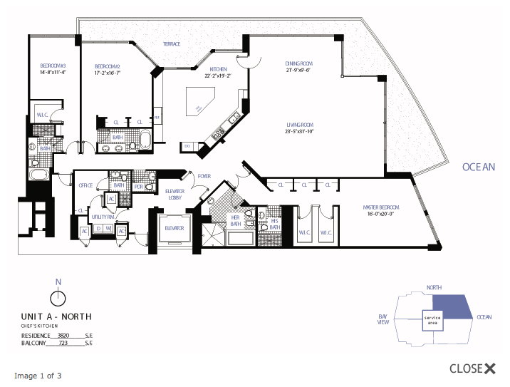 Bellini Bal Harbour - Floorplan 1