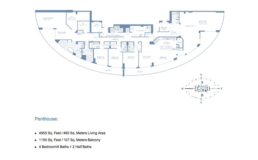 Bellini Williams Island - Floorplan 1