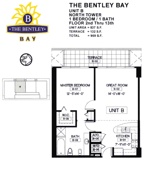 Bentley Bay - Floorplan 1