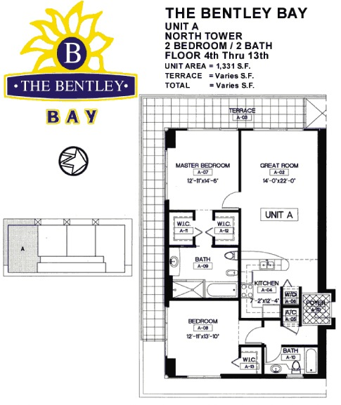 Bentley Bay - Floorplan 4