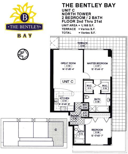 Bentley Bay - Floorplan 5