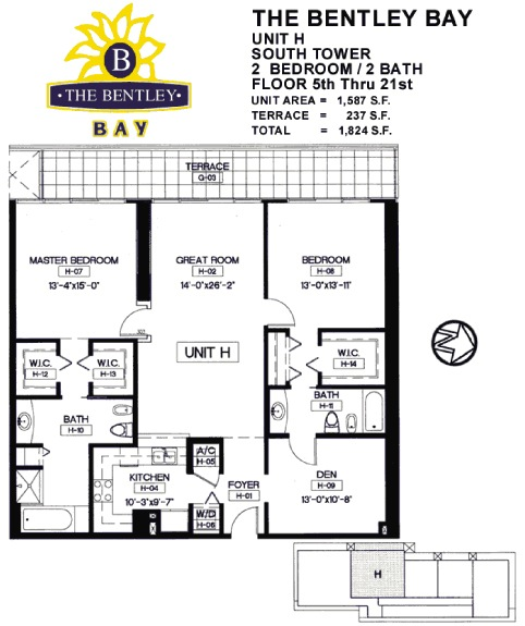 Bentley Bay - Floorplan 6